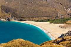 Playa de Achla Foto de archivo libre de regalías
