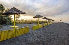 Playa de Ada Bojana Foto de archivo
