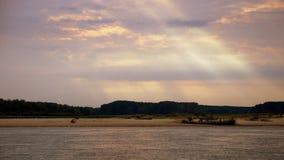 Playa de Adandoned Foto de archivo