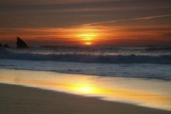 Playa de Adraga Fotos de archivo