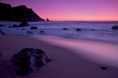 Playa de Adraga Foto de archivo