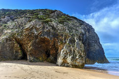 Playa de Adraga - Portugal Foto de archivo libre de regalías