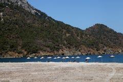 Playa de Adrasan Foto de archivo