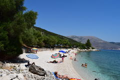 Playa de Agia Paraskevi, Imágenes de archivo libres de regalías