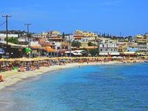 Playa de Agia Pelagia Fotografía de archivo libre de regalías