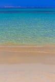 Playa de Agios Georgios, isla de Naxos, Cícladas, egeas, Grecia fotos de archivo libres de regalías
