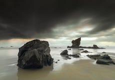 Playa de Aguilar foto de archivo