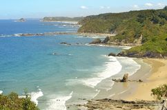 Playa de Aguilar Imagen de archivo libre de regalías