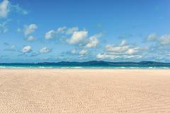 Playa de Airlie de los Pentecostés fotos de archivo libres de regalías