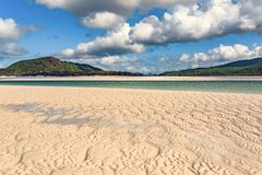 Playa de Airlie de los Pentecostés fotos de archivo