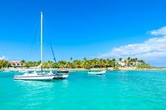 Playa de Akumal - playa de la bahía del paraíso en Quintana Roo, México - costa del Caribe fotografía de archivo