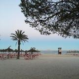 Playa de Alcudia Imagen de archivo libre de regalías
