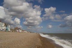 Playa de Aldeburgh Fotos de archivo libres de regalías