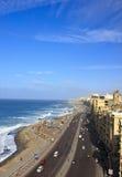 Playa de Alexandría imagenes de archivo