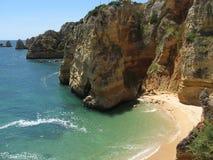 Playa de Algarve Imagen de archivo libre de regalías