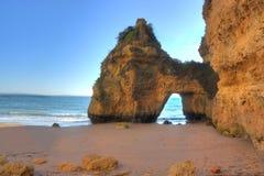 Playa de Algarve Imágenes de archivo libres de regalías