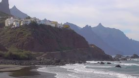 Playa de Almaciga en Tenerife metrajes
