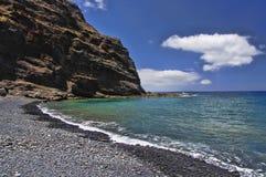 Playa de Alojera Fotografia Stock