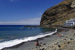 Playa de Alojera Immagine Stock Libera da Diritti