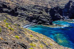 Playa de Alojera Stock Photo