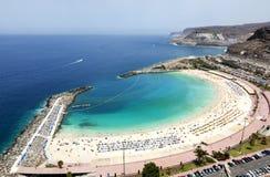 Playa de Amadores, Gran Canaria Stock Images