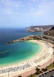 Playa de Amadores, Grand Canary Royalty Free Stock Photo