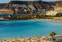 Playa de Amadores, Puerto Rico, Gran Canaria Stock Photo