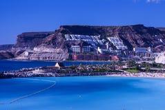 Playa de Amadores, Puerto Rico, Gran Canaria Royalty Free Stock Images