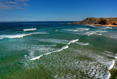 Playa de Amoreira Imagenes de archivo