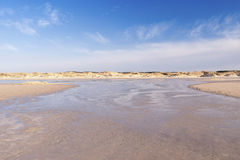 Playa de Amrum Imagen de archivo libre de regalías