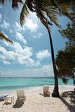 Playa de Angaga Foto de archivo libre de regalías
