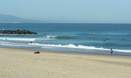 Playa de Anglet imagen de archivo
