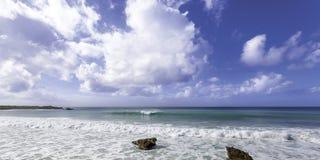 Playa de Anguila Foto de archivo libre de regalías