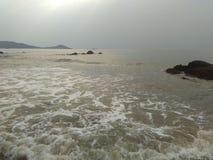 Playa de Ankola Foto de archivo libre de regalías