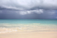 Playa de Antigua Imagenes de archivo