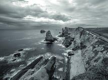 Playa de Arnia Stock Photo