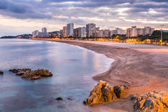 Playa de aro Stock Photography