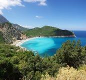 Playa de arriba Imagenes de archivo