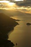 Playa de arriba Fotografía de archivo libre de regalías