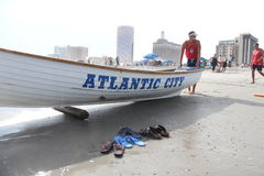 Playa de Atlantic City Imagen de archivo