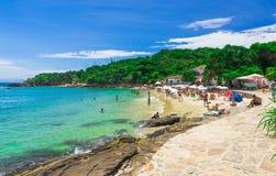 Playa de Azeda en Buzios, Rio de Janeiro imagen de archivo libre de regalías