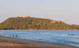 Playa de Baan Klood, Tailandia. Imagenes de archivo