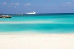 Playa de Bahamas Imágenes de archivo libres de regalías