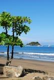 Playa de Bahia Coco Imagenes de archivo