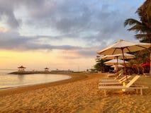 Playa de Bali Imágenes de archivo libres de regalías