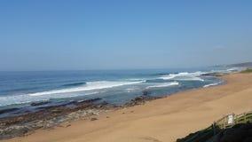 Playa de Ballito Imagenes de archivo
