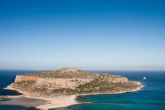 Playa de Balos fotografía de archivo
