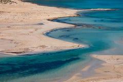 Playa de Balos foto de archivo