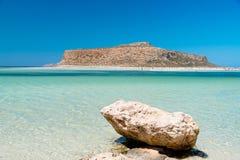 Playa de Balos, crete foto de archivo libre de regalías