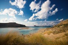 Playa de Balos, crete, Grecia fotos de archivo libres de regalías